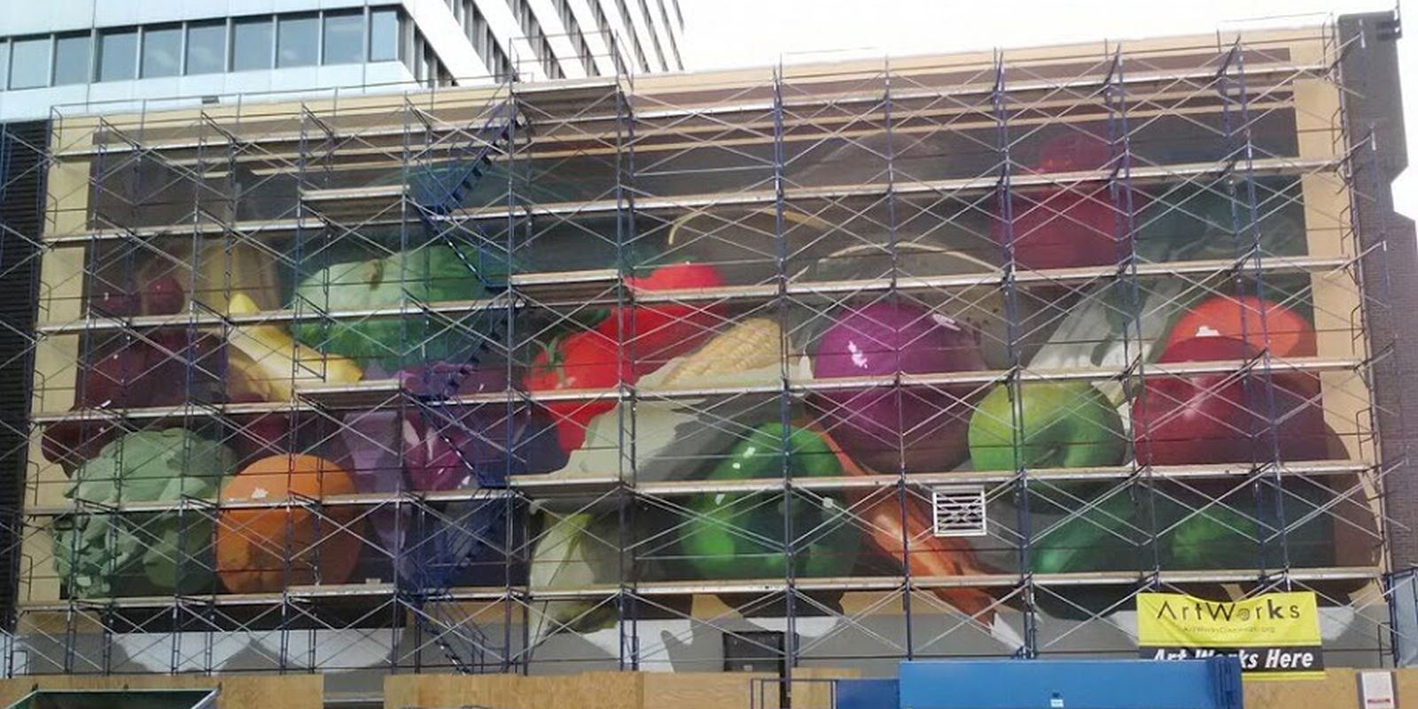 Kroger Headquaters Mural - Cincinnati Ohio - Courtesy of Art Works Cincinnati